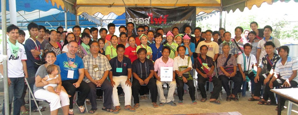 Crossfire Lahu training crowd 2013