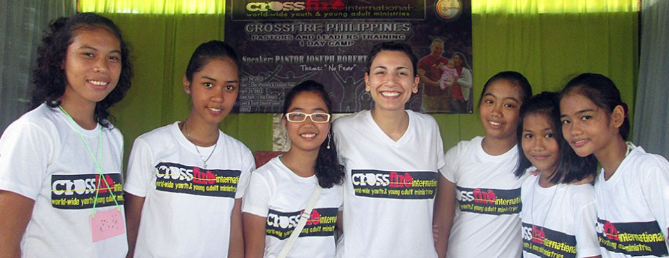 Gina and Crossfire Philippines girls 2013